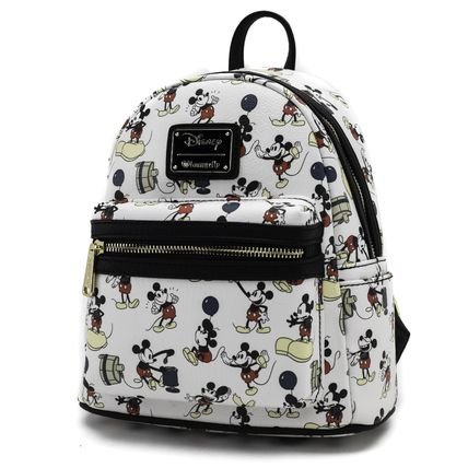 LOUNGE FLY バックパック・リュック 【Lounge Fly】●ディズニーコラボ●Mickey Print Mini Backpack(3)
