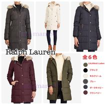 【Ralph Lauren】Faux-Fur-Trim Hooded Down Coat 6カラー