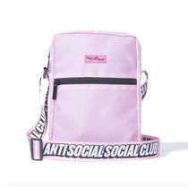 在庫あり Anti social social club  side bag Black