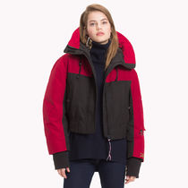 【Tommy Hilfiger】Tommy Icons Cropped Parka【ラッピングOK】