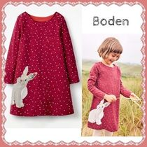 ★Boden★うさぎさんのアップリケ ワンピース(2〜12歳)★送料込