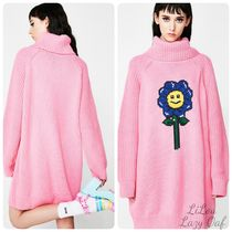 LAZY OAF★Flower Power Sweater Dress ニット セーター