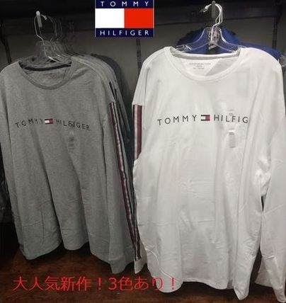 Tommy Hilfiger Tシャツ・カットソー 2018年秋冬最新作★完売必至!TOMMYトミー★ロゴ 長袖Tシャツ(8)