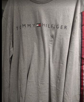 Tommy Hilfiger Tシャツ・カットソー 2018年秋冬最新作★完売必至!TOMMYトミー★ロゴ 長袖Tシャツ(11)
