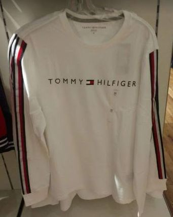 Tommy Hilfiger Tシャツ・カットソー 2018年秋冬最新作★完売必至!TOMMYトミー★ロゴ 長袖Tシャツ(6)