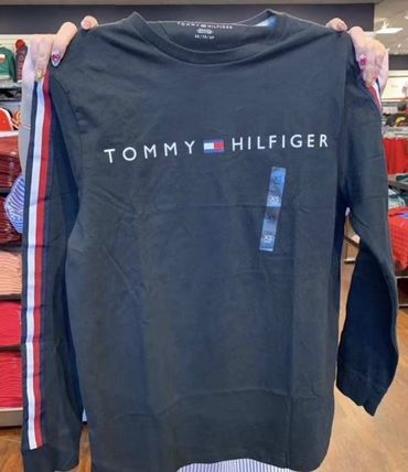 Tommy Hilfiger Tシャツ・カットソー 2018年秋冬最新作★完売必至!TOMMYトミー★ロゴ 長袖Tシャツ(7)