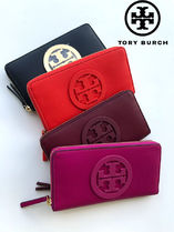 即発 TORY BURCH★CHARLIE ZIP CONTINENTAL*大きいロゴ