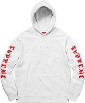 レディース☆Supreme Gradient Sleeve Hooded Sweatshirt