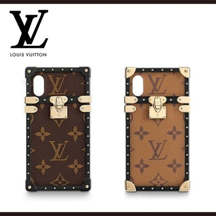 Louis Vuitton スマホケース・テックアクセサリー 関税込・直営店★ルイヴィトン アイ・トランク IPHONE X & XS