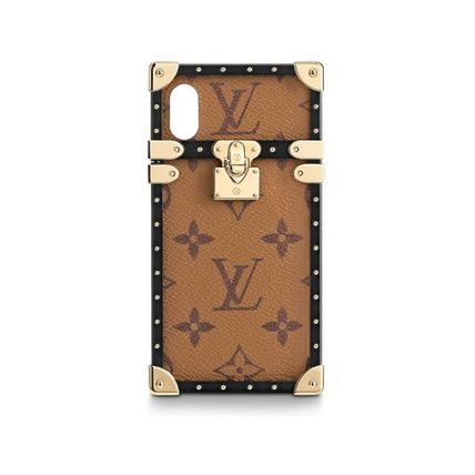 Louis Vuitton スマホケース・テックアクセサリー 関税込・直営店★ルイヴィトン アイ・トランク IPHONE X & XS(5)