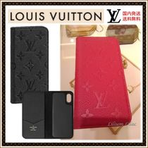 【国内発送】 LOUIS VUITTON☆iPhone X & XS・フォリオ