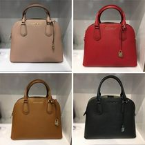 【Michael Kors】新作☆ADELE LG DOME  SATCHEL 2way☆ラージ