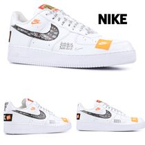 "ユニセックス!NIKE AIR FORCE 1 '07 PRM ""JUST DO IT"" (22cm~)"
