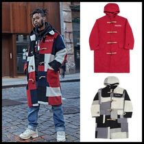I AM NOT A HUMAN BEING(ヒューマンビーイング) ダッフルコート ☆I AM NOT A HUMAN BEING☆  [17W] Patch Work Duffle Coat 3色