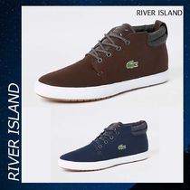River Island Lacoste leather mid top スニーカー シューズ 靴