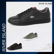 River Island Lacoste leather lace-up スニーカー シューズ 靴