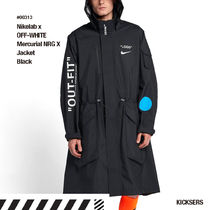 人気話題!Nikelab x OFF-WHITE Mercurial NRG X Jacket Black