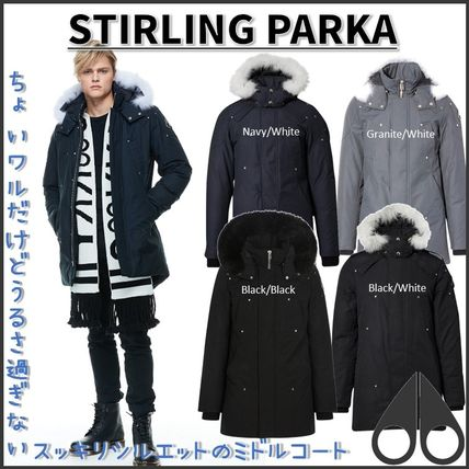 MOOSE KNUCKLES★STIRLING PARKA★ワイルドルックダウンコート