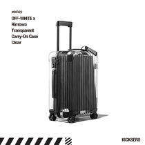 人気話題!OFF-WHITE x Rimowa Transparent Carry-On Case Clear