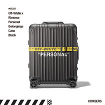 Off-White(オフホワイト) スーツケース 人気話題!Off-White Rimowa Personal Belongings Case Black