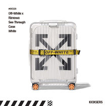 人気話題!Off-White Rimowa See Through Case White