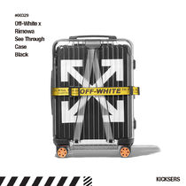 人気話題!Off-White Rimowa See Through Case Black