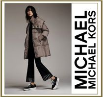 MICHAEL MICHAEL KORS Studded Stretch-Crepe Cropped Trousers