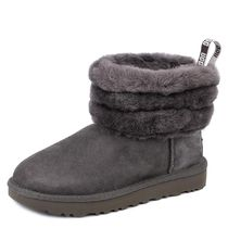 UGG ブーツ  FLUFF MINI QUILTED CHARCOAL f18aw1098533chrc