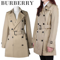 Burberry★女性 KENSINGTON MID TRENCH COAT 3900461