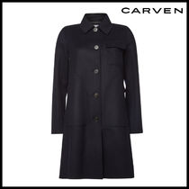 CARVEN(カルヴェン)★Wool Coat with Cashmere
