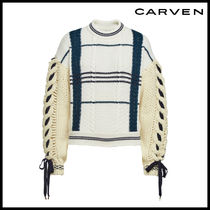 CARVEN(カルヴェン)★Virgin Wool Pullover with Alpaca