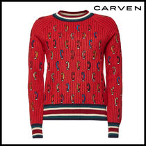 CARVEN(カルヴェン)★Embroidered Wool Pullover