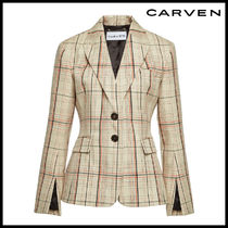 CARVEN(カルヴェン)★Printed Virgin Wool Blazer