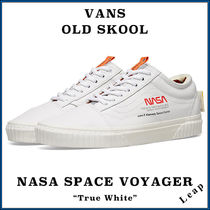 "VANS(バンズ) スニーカー 【VANS】激レア コラボ OLD SKOOL NASA SPACE VOYAGER ""WHITE"""