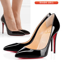 VIP価格★Louboutin★Pigalle Follies 100 パテント パンプス