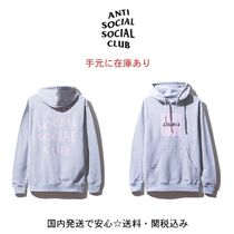 【ANTI SOCIAL SOCIAL CLUB】Doubts Grey Hoodie (送料関税込)