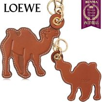 【正規品保証】LOEWE★19春夏★CAMEL LEATHER CHARM KEYCHAIN