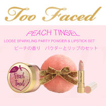 ★Too Faced★PEACH TINSEL パウダー&リップセット