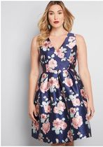 chi chi london sweetly celebrated fit and flare dress in