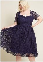 chi chi london opulent aura fit and flare dress