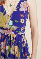 muster the length maxi dress in sapphire