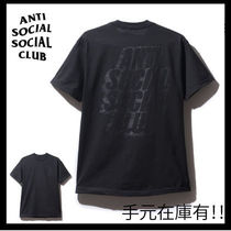 【希少】Anti Social Social Club/ Black Blocked Tee/国内発送
