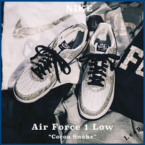"【Nike】入手困難☆人気 Air Force 1 Low ""Cocoa Snake"""