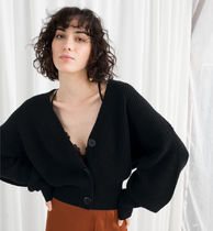 ★& Other Stories★ウール クロップニット Wool button sweater