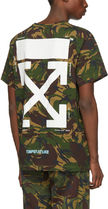>> Off-White << CAMOUFLAGE ARROWS S/S T-SHIRT 迷彩 Tシャツ