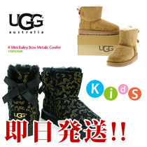 UGG★K MINI Baily Bow Metalic Conifer #1009268k ブーツ
