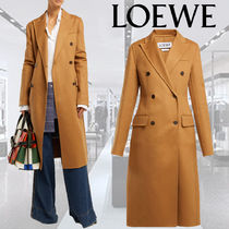 **LOEWE**ロエベ★Double-breasted wool and cashmere coat