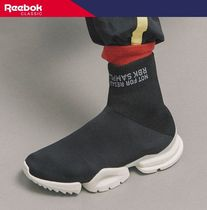 【REEBOK】 REEBOK SOCK RUN R P BLACK [CN4742]