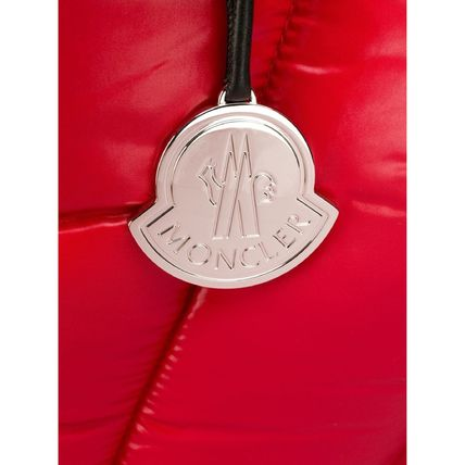 MONCLER トートバッグ SALE【MONCLER】POWDER パデッド トートバッグ RED(2)