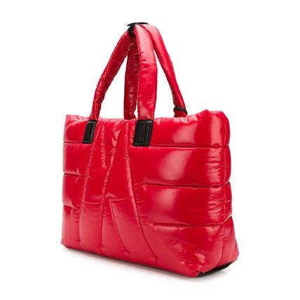 MONCLER トートバッグ SALE【MONCLER】POWDER パデッド トートバッグ RED(4)